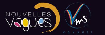 logo agence voyages nouvelles vagues vms