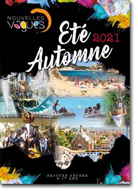 Couv 2021 catalogue voyages jeunes ados nouvelles vagues