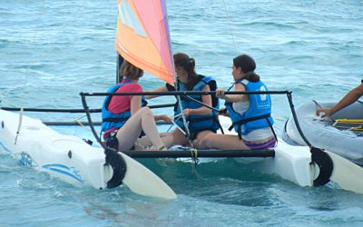 camp vacances stage voile antibes