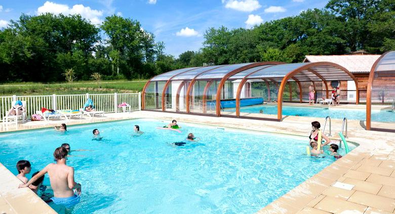 colonie de vacances défiPlanet' piscine