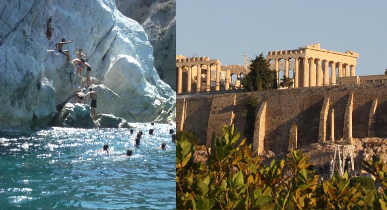 colonie de vacances en grèce athenes