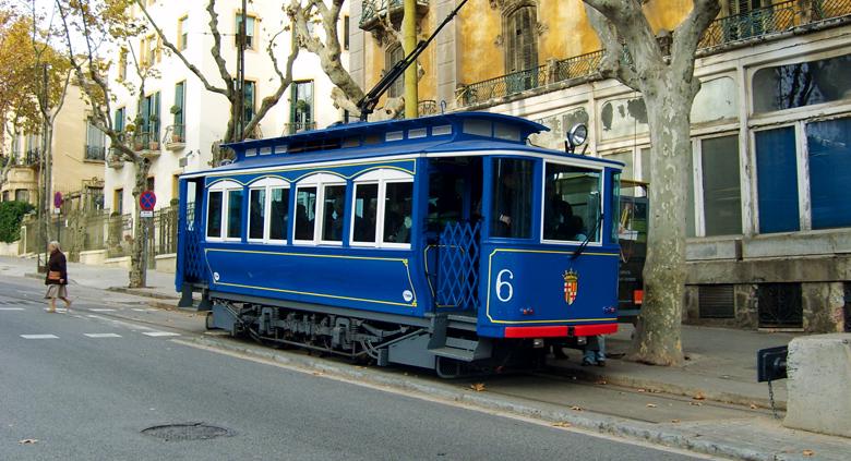séjour Espagne Barcelone tramway