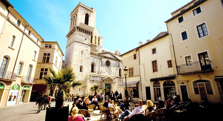 sorties scolaires France Nîmes cathédrale