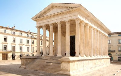 sorties scolaires France Nîmes Maison Carrée