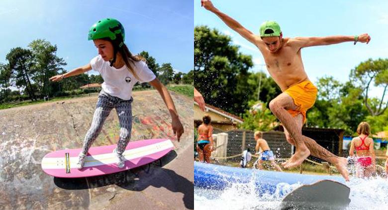 surf camp vacances sportives landes