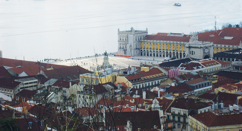 voyage scolaire portugal lisbonne plaza Mayor