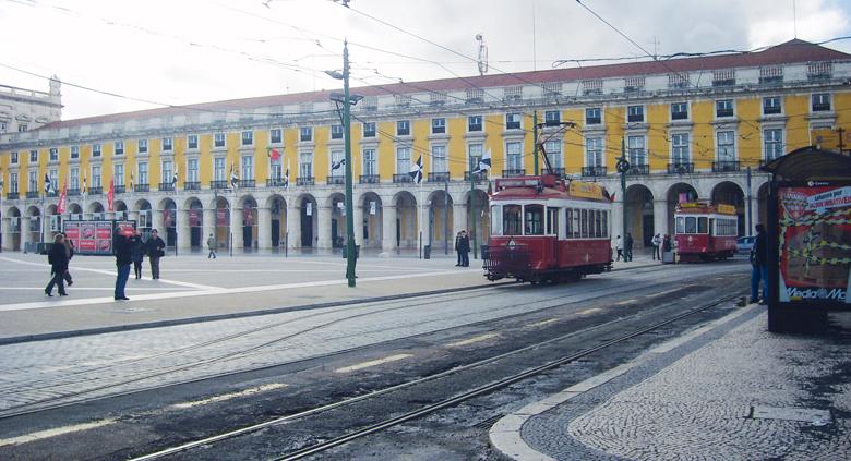 voyage scolaire portugal lisbonne tramway
