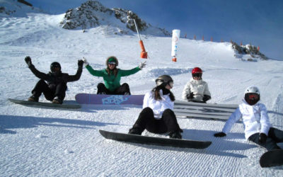 ski ou snow sestrières italie